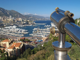Port of Monaco view from above