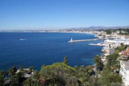 View of Nice bay